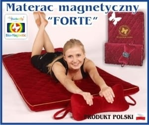 "KOMPLET MAGNETYCZNY ""FORTE"" (Materac + poduszka Ort Butterfly)"